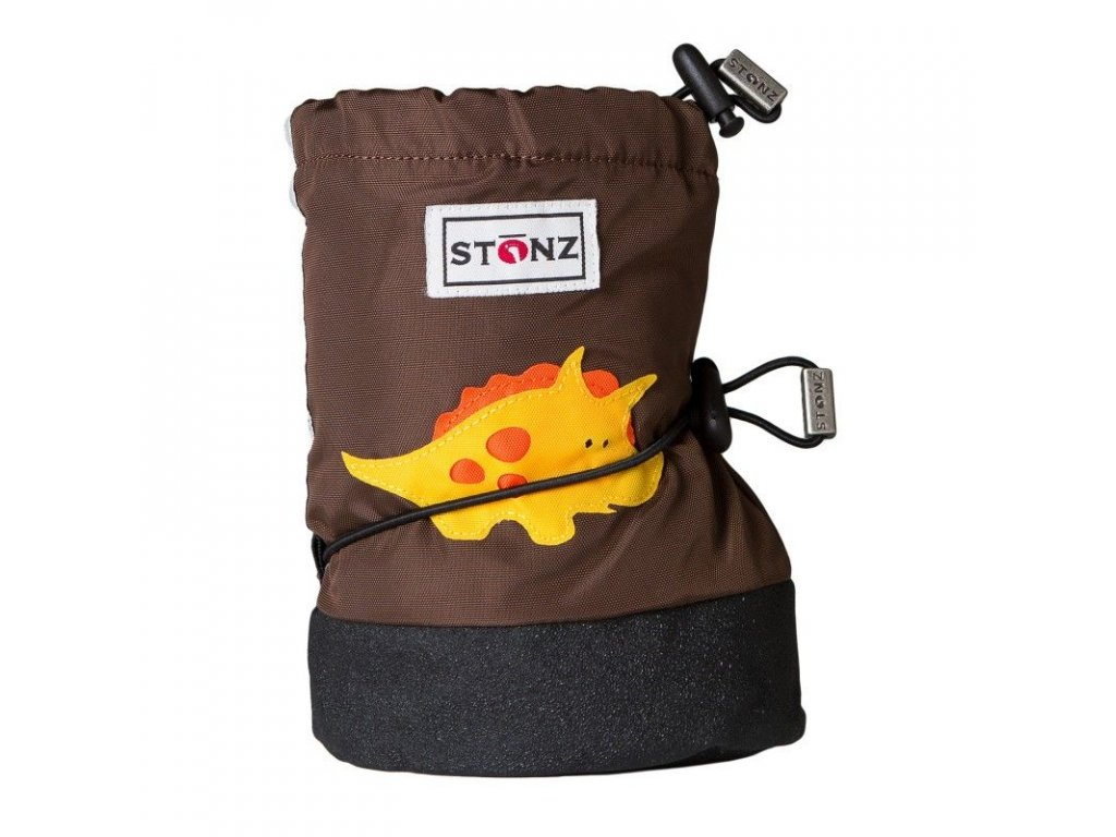 Stonz booties INFANT Triceratops