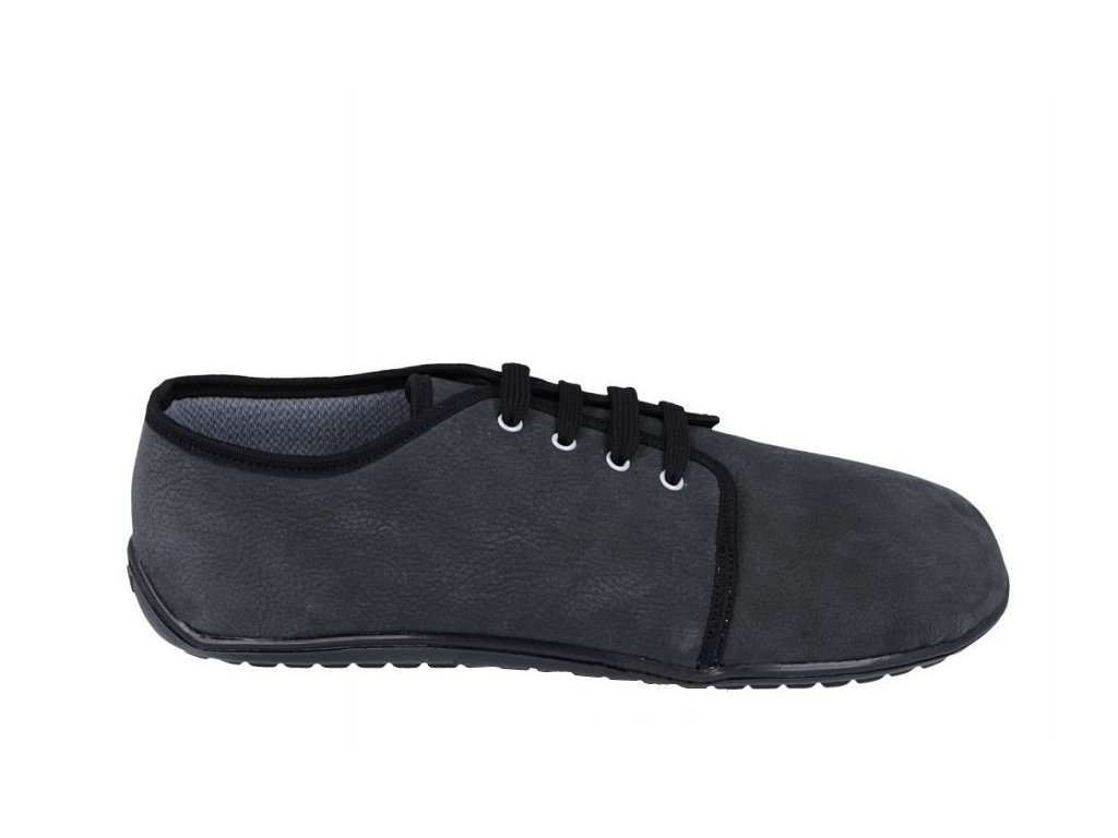 beda barefoot kozene boty dark grey