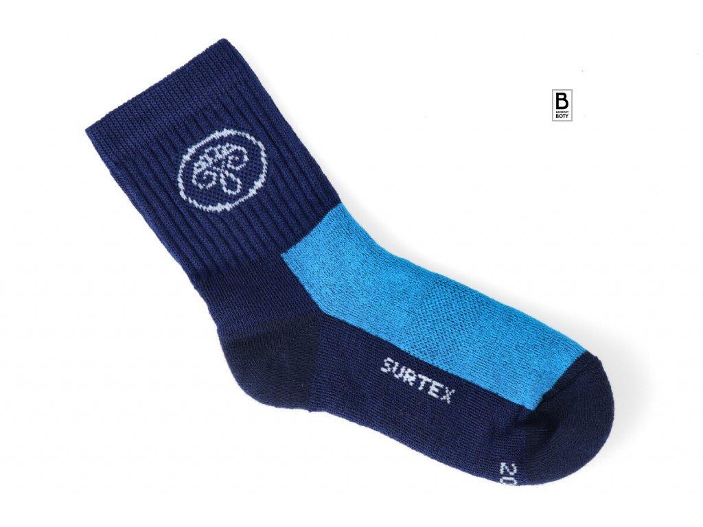 10202 ponozky surtex active 80 merino modre 1