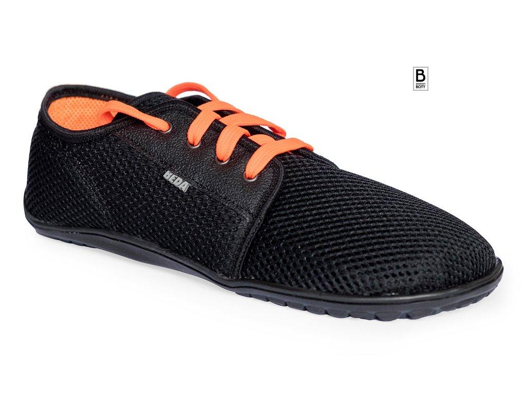 Beda black orange 01