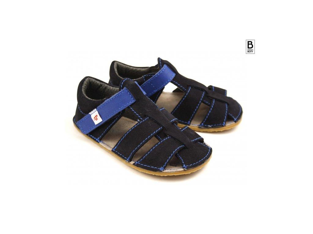 ef sandalky tmave modre