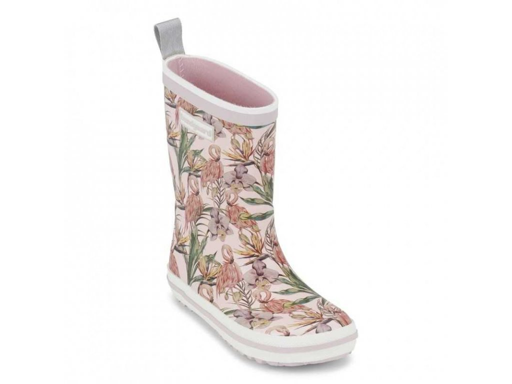 classic rubber boot bundgaard flamingo