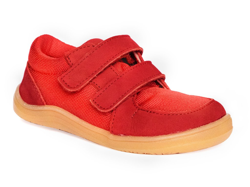 Baby bare Febo sneakers red 01