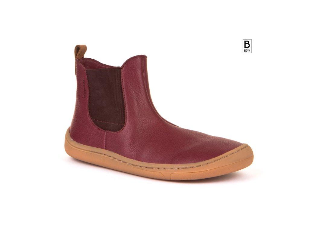 froddo barefoot kotnikove boty chelys bordeaux chelsea