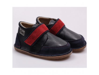 Tikki boots Red Navy