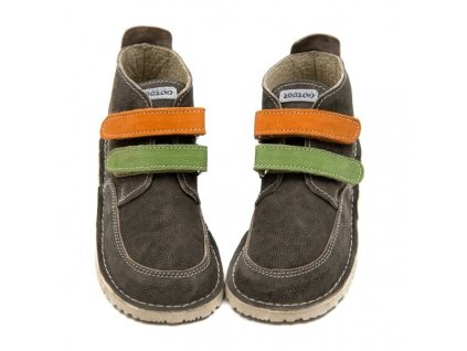 ZeaZoo Fox Manga Grey/Green/Orange