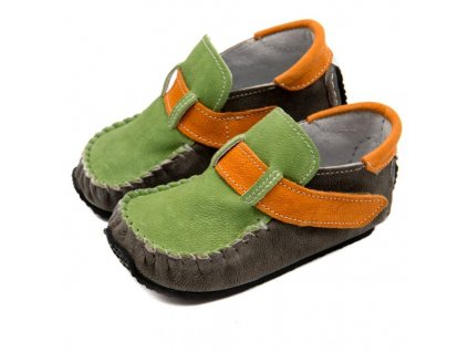 ZeaZoo LEO Manga Green/Grey/Orange