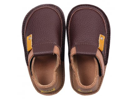 barefoot kids shoes coffee 332 4