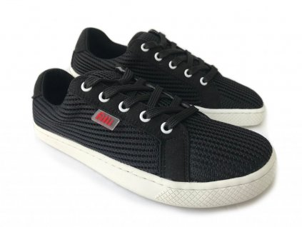 Filii Barefoot RELAX vegan textile black laces M