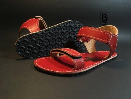 Paw sandály dětské červené
