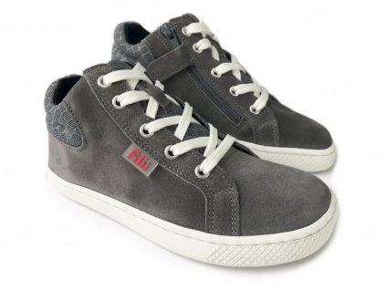 8732 filii barefoot skater one laces velours grey m