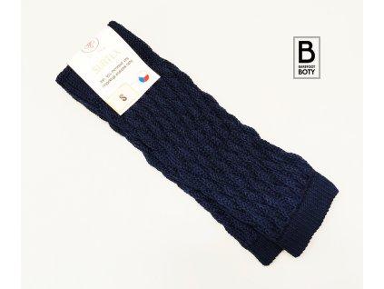 Vlněný návleky Surtex 95% Merino modré