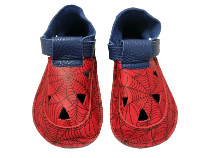 detske barefoot sandaly baby bare spider