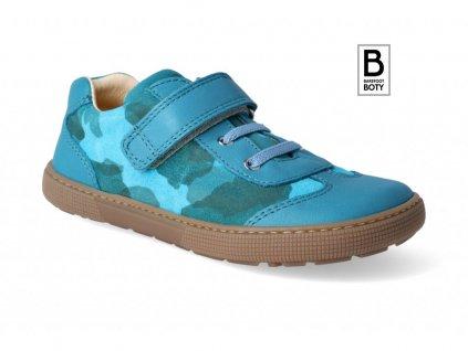 barefoot tenisky koel4kids bernardo turquoise 2 3