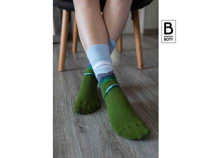 barefoot ponozky be lenka alpine