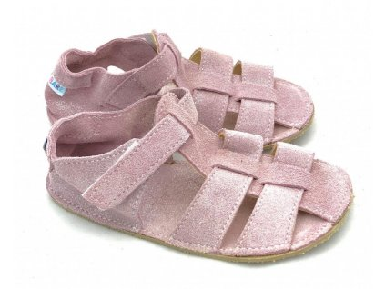 baby bare sandaly new sparkle pink
