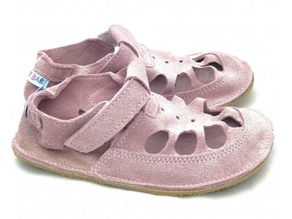 baby bare sandaly summer sparkle pink