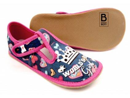 barefoot bačkory ef world girl