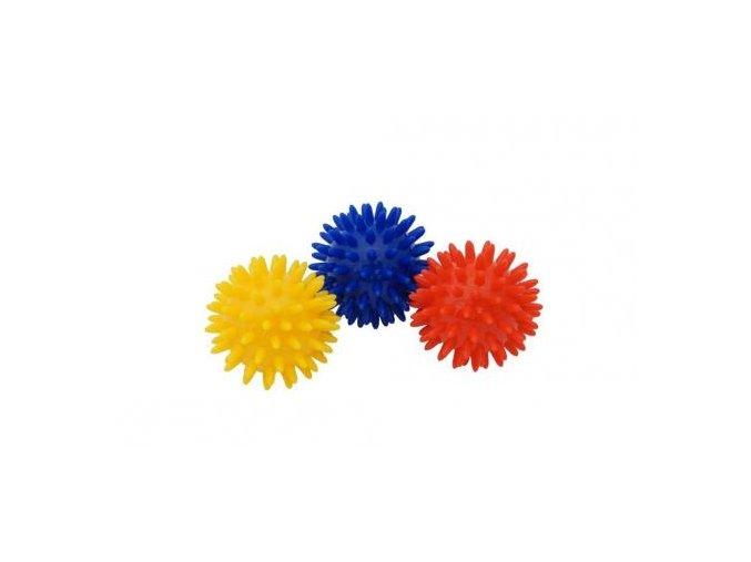 Kine-MAX masážní míček ježek 6cm - modrý