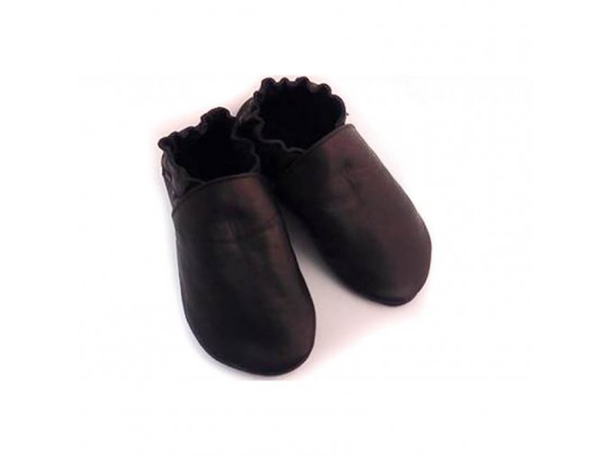 Capáčky Tomar - černé, bez podšívky