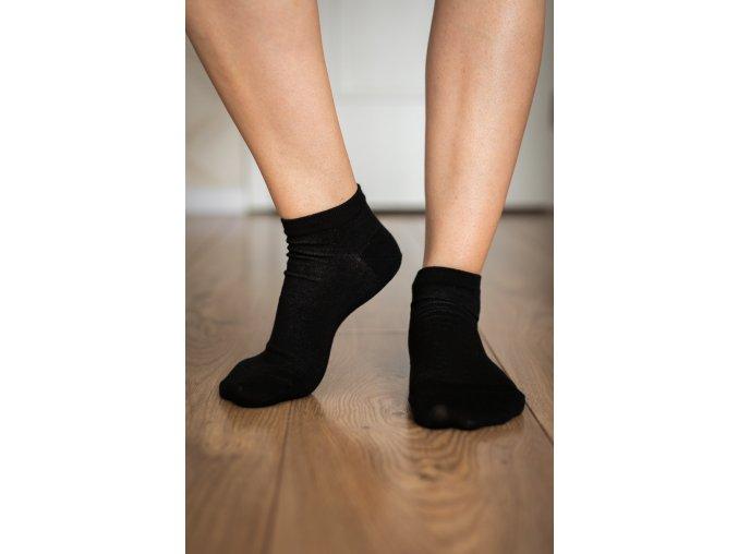 barefoot ponozky kratke cierne 2097 size large v 1