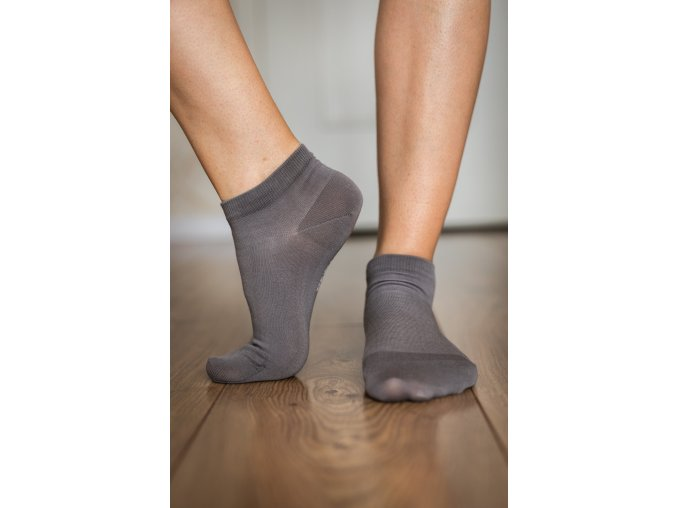 barefoot ponozky kratke sive 2091 size large v 1