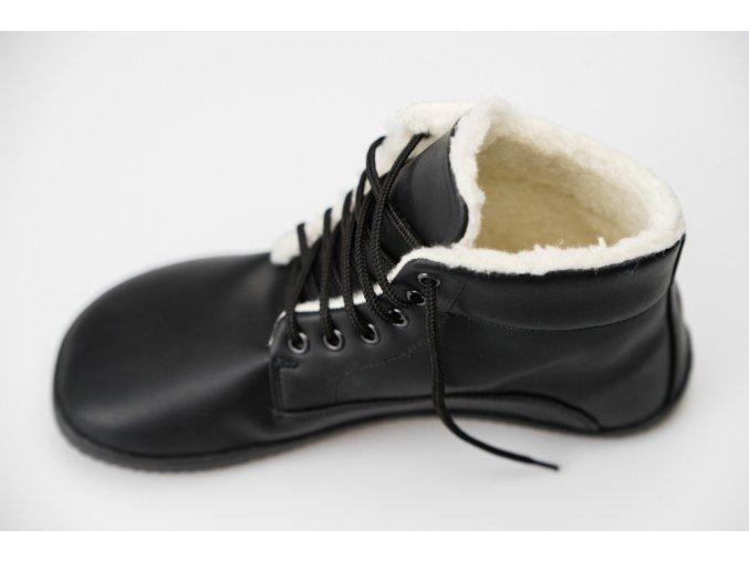 Ahinsa Bare Ankle Lifo+ zimní černá
