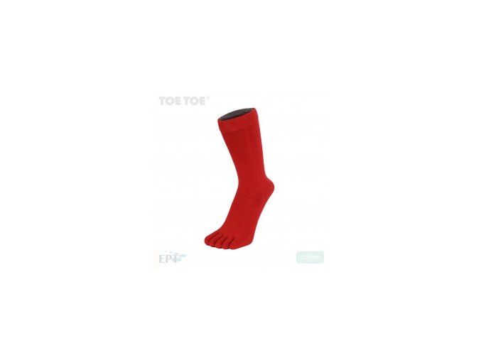 Red  Essentials Mid-Calf 35-46