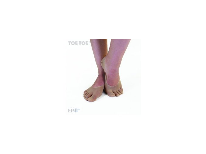 Beige Plain Nylon Foot Cover