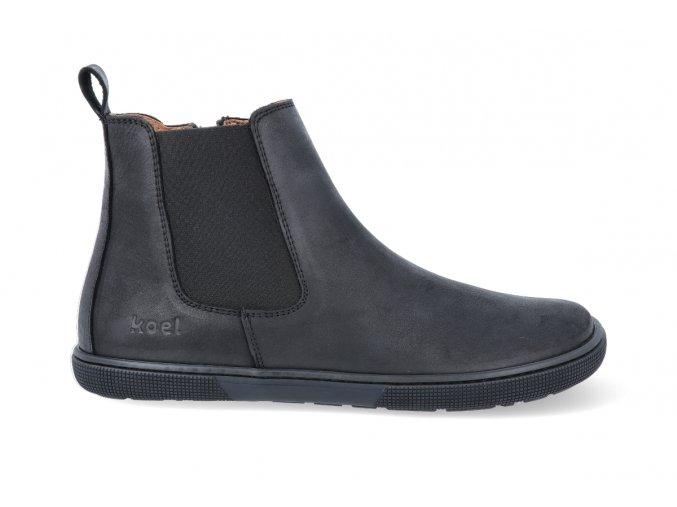 barefoot kozacky koel4kids faro adult black 1