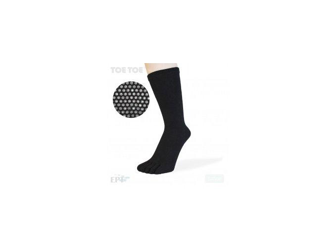 Black Anti-Slip Mid-Calf