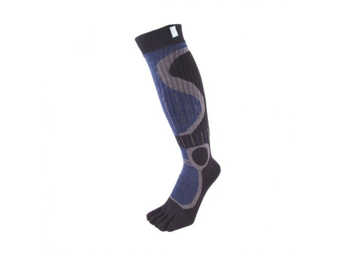 toe socks sports ski blue black 4a 3