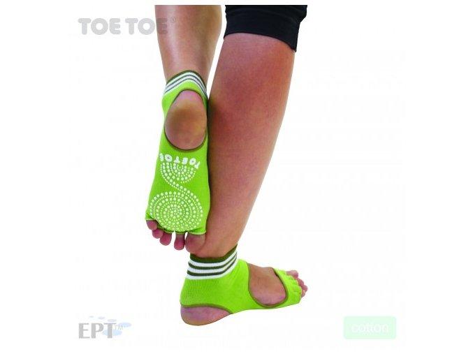 Green Anti-Slip Sole Open Toe Heel 35-38