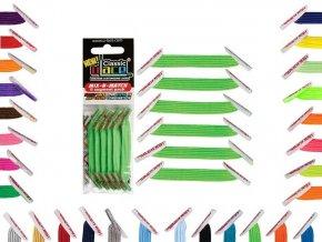 zázračné tkaničky zelené