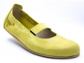 Baleríny Afrodita žluté