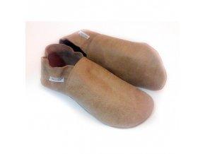 Capáčky Tomar - hnědé, zateplené