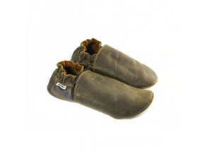 Capáčky Tomar - tmavě hnědé, bez podšívky
