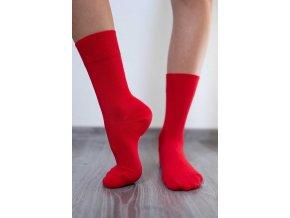 bl ponozky cervene 4684 size large v 1