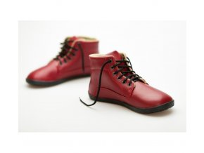 Ahinsa Sundara Bare Ankle Lifo+ Červená