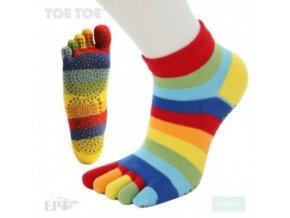 Rainbow Stripy Anti-Slip Trainer 39-42