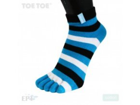 Turquoise Stripy Anklet 35-46