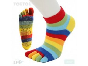 Rainbow Stripy Anti-Slip Trainer 35-38