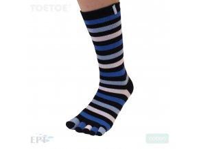Purple Ankle Mid-Calf Stripy 35-46