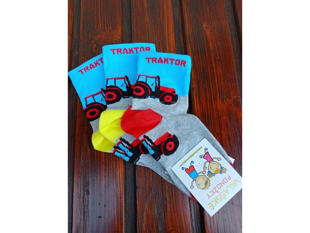 Celoroční dětské ponožky bavlněné pro holky bílé srdíčka