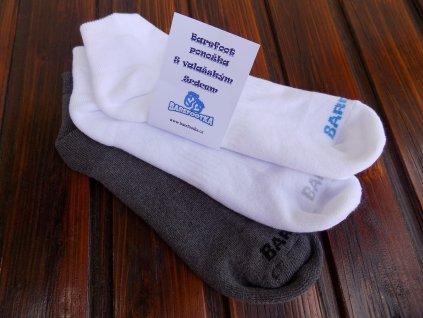 Celoroční polofroté barefoot ponožky