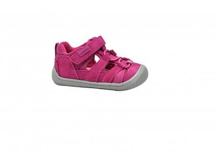 3F Bar3foot plátěné sandálky 3BE25/5R šedé