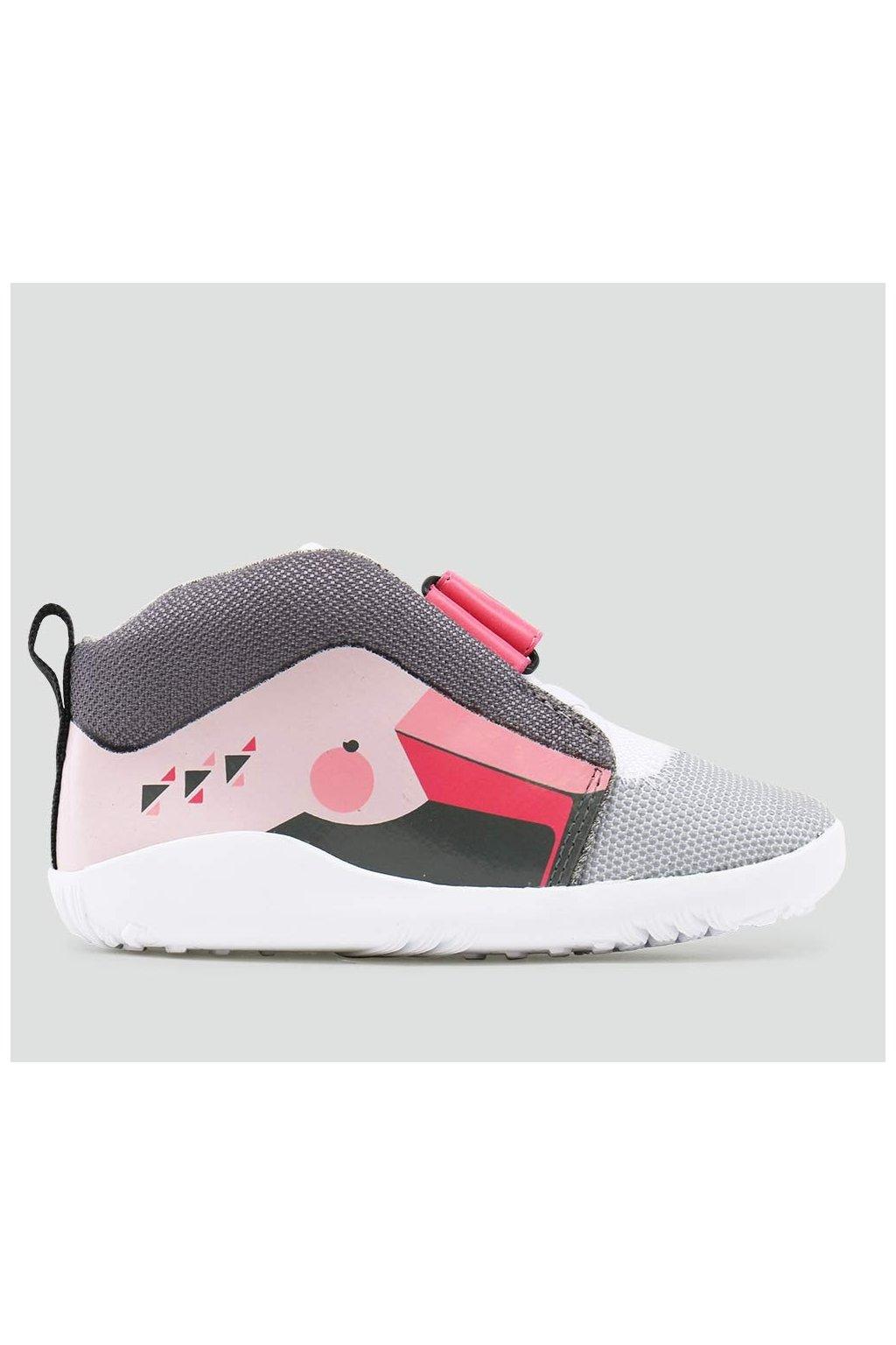 Bobux Blaze Hi Flamingo Pink