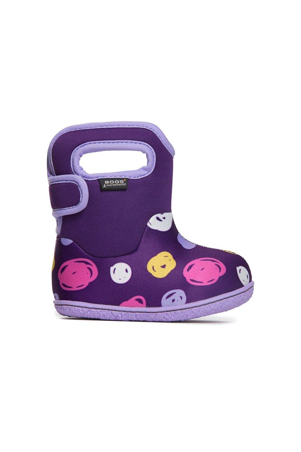 Bogs Classic Dots Purple