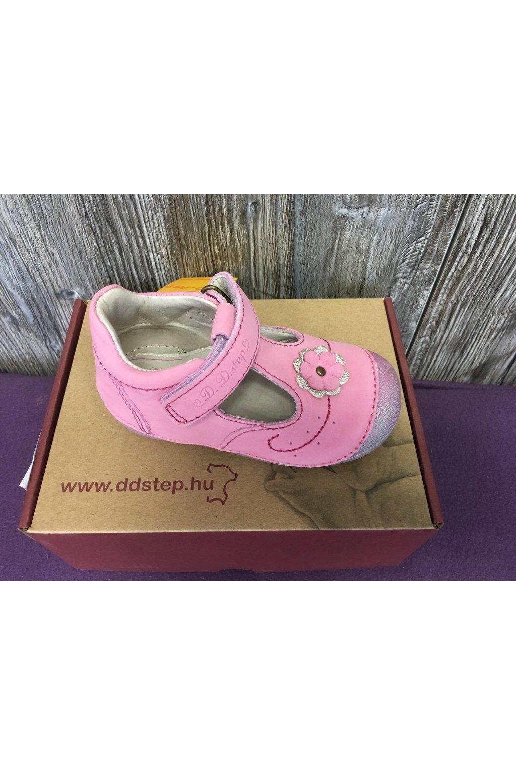 D.D.Step sandále - Dark Pink