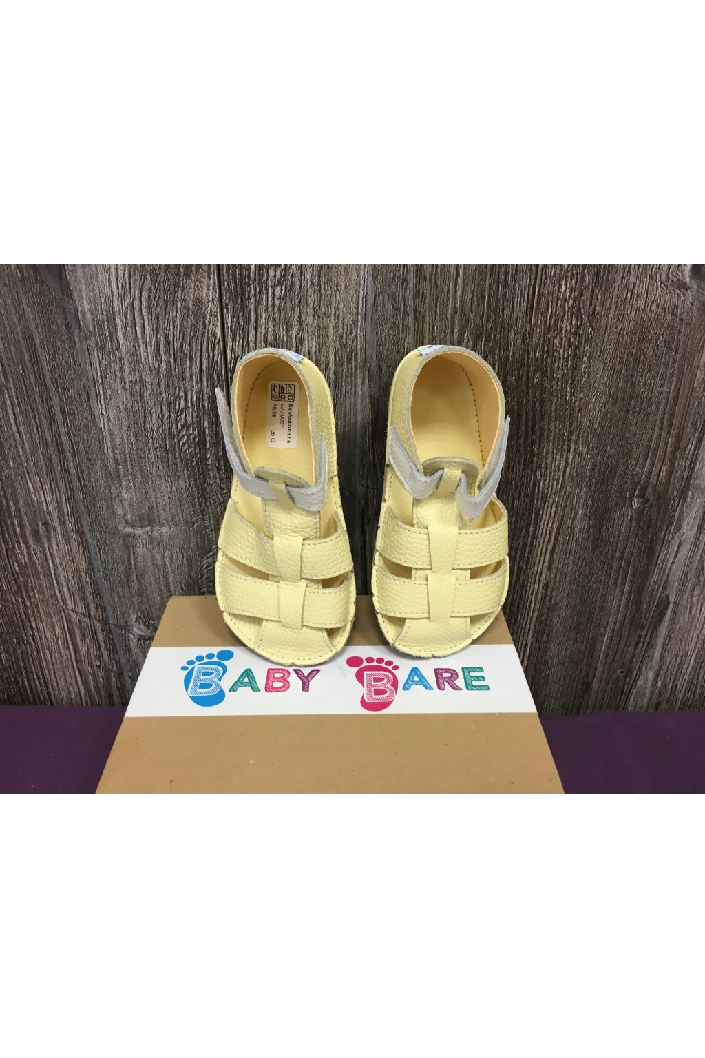Baby Bare Shoes Canary - Sandals New 2